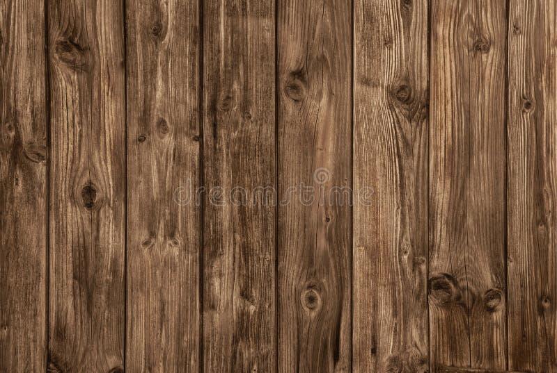 Le vieux conseil brun en bois - personne et vident photos libres de droits