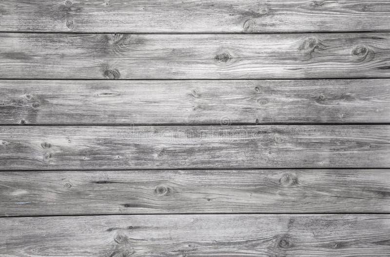 Le vieux fond en bois gris - personne et vident photos stock