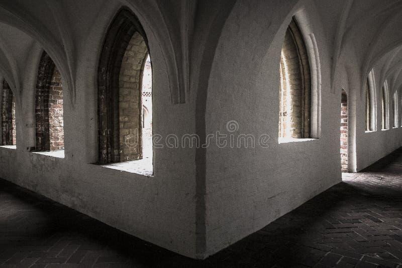 Le vieux monastère photo libre de droits