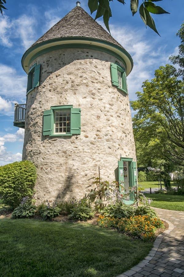 Le vieux moulin communal photo libre de droits