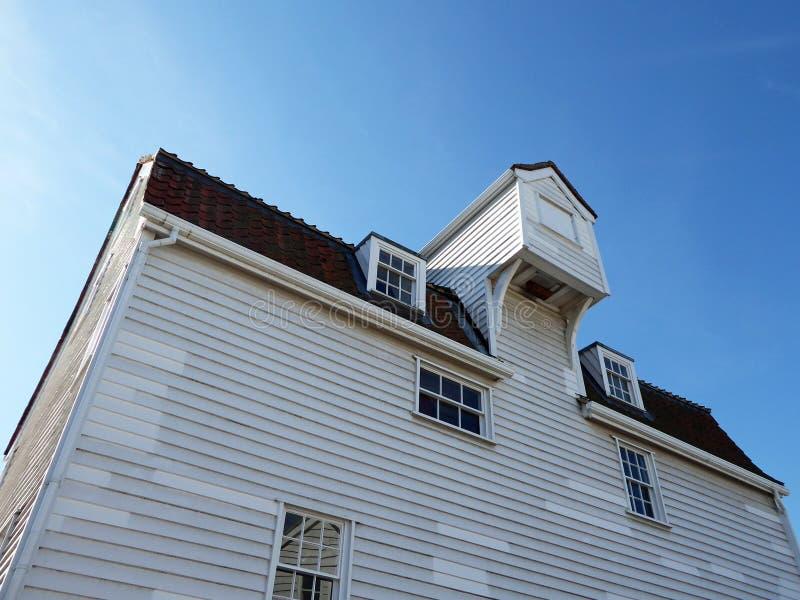 Le vieux moulin de marée, Woodbridge, Angleterre photos stock