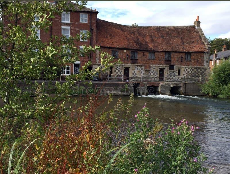 Le vieux moulin Harnham Salisbury photo libre de droits
