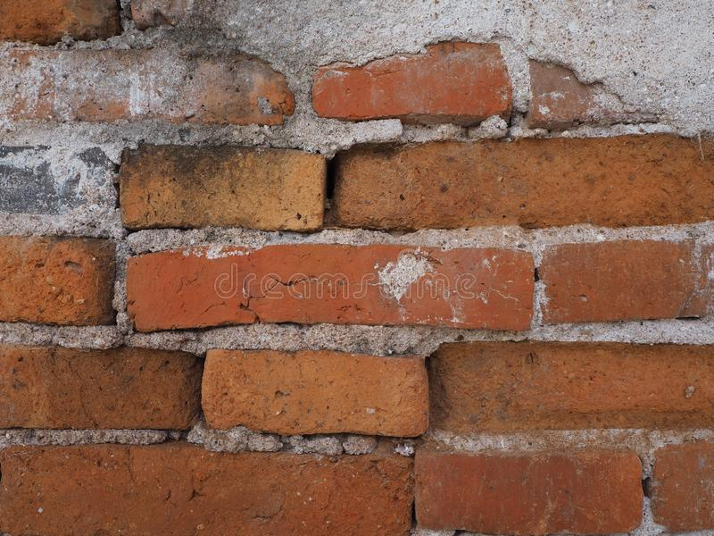 Le vieux mur d'insulte photo stock