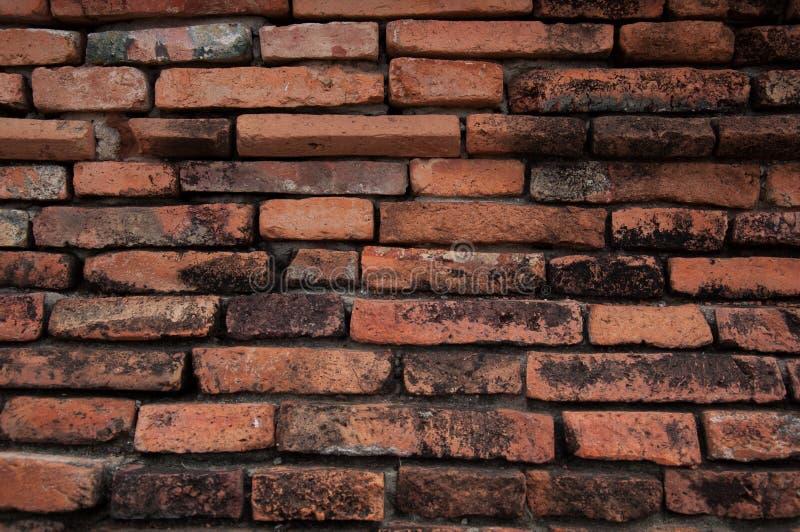 Le vieux mur de briques en Thaïlande photos libres de droits