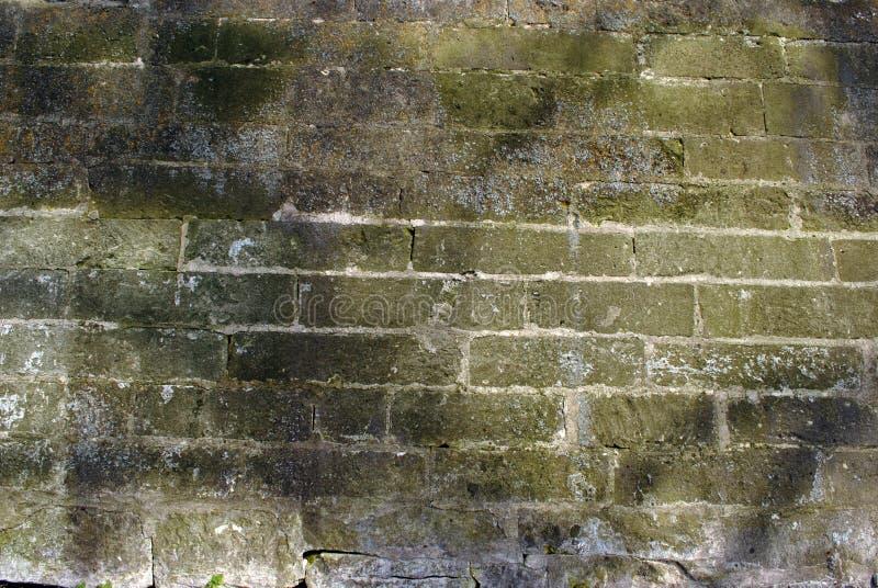 Le vieux mur de briques rouge photographie stock libre de droits