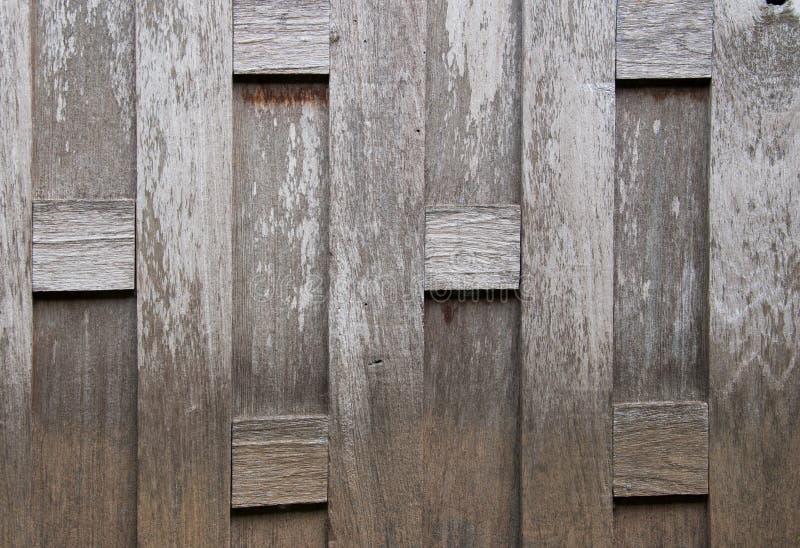 Le vieux mur en bois en Thaïlande photographie stock libre de droits
