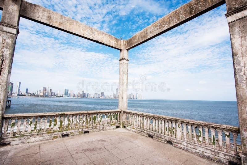 Le vieux Panama images libres de droits