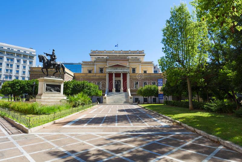 Le vieux Parlement grec, Athènes - Grèce photographie stock
