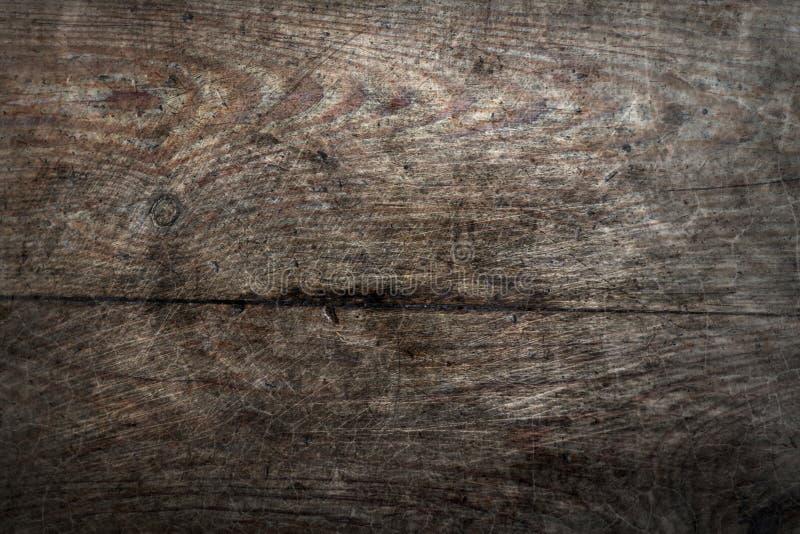 Le vieux plancher de grunge en bois de pin embarque le fond abstrait de texture de surface de modèle de fente photos libres de droits