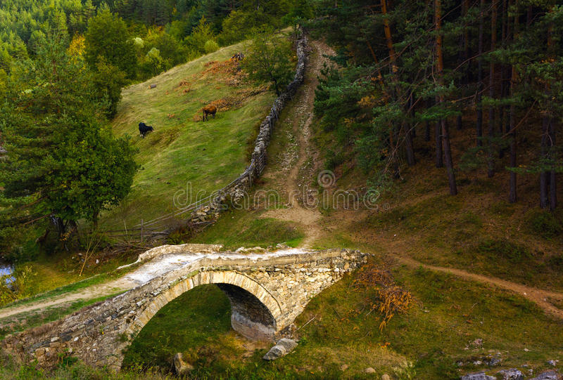 Le vieux pont photo libre de droits
