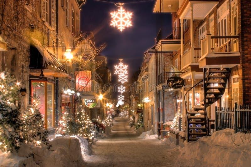 Le vieux Québec image libre de droits