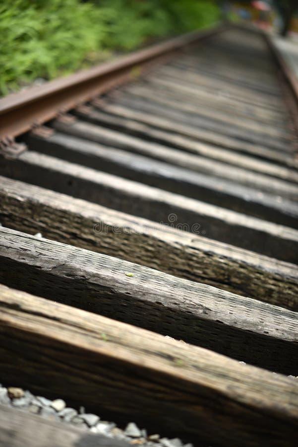 Le vieux rail images stock