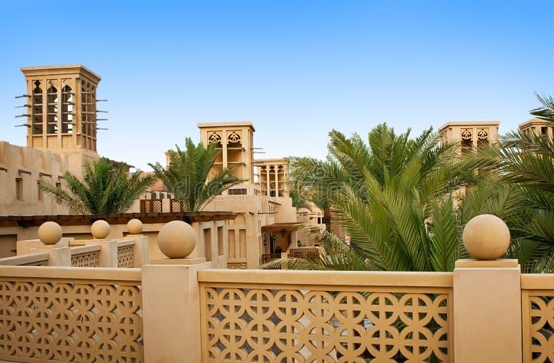 Le vieux secteur de Dubaï, Madinat photo stock