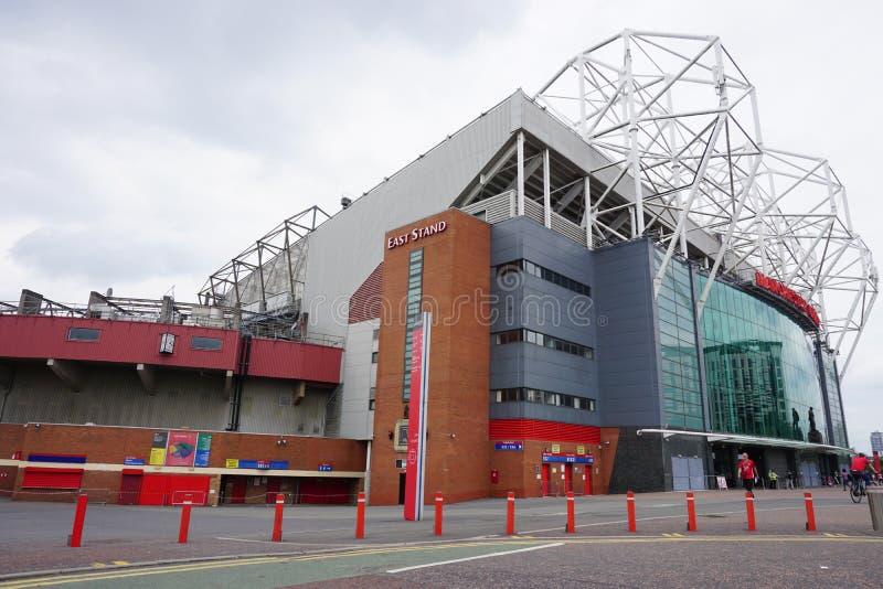 Le vieux stade de Trafford de Manchester United image libre de droits