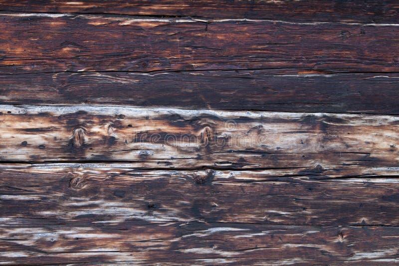 Le vieux vintage planked le fond rustique ou rural en bois de conseil - image stock