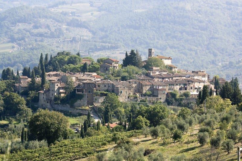 Le village antique image libre de droits