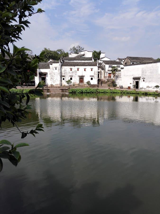 Le village antique de Jiangnan images stock