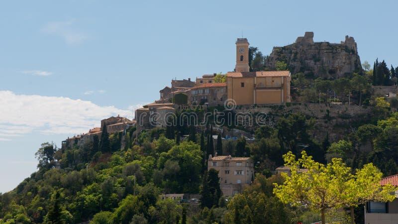 Le village d'Eze image stock
