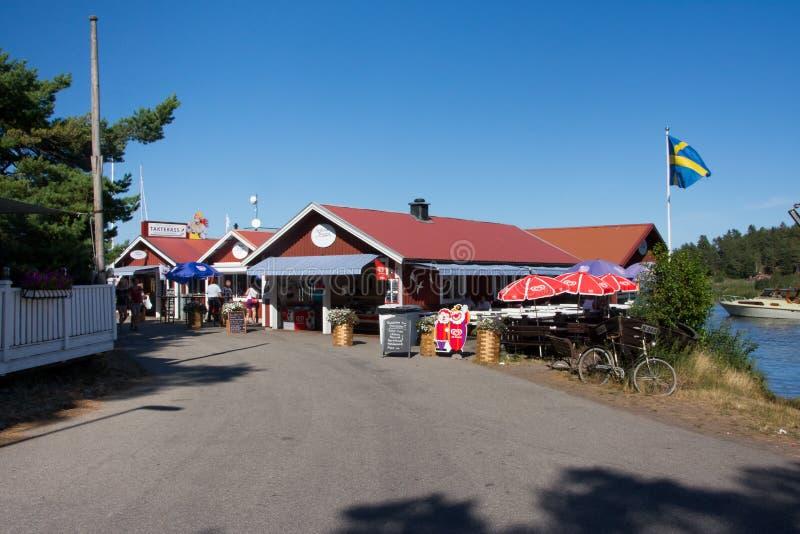 Le village de pêcheurs de Spiken photos libres de droits