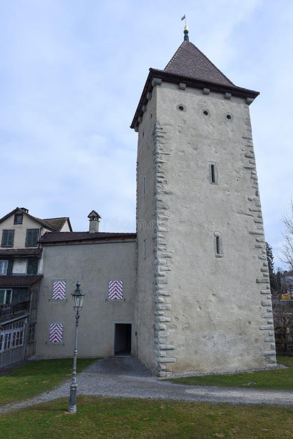 Le village de Sursee sur la Suisse photo stock
