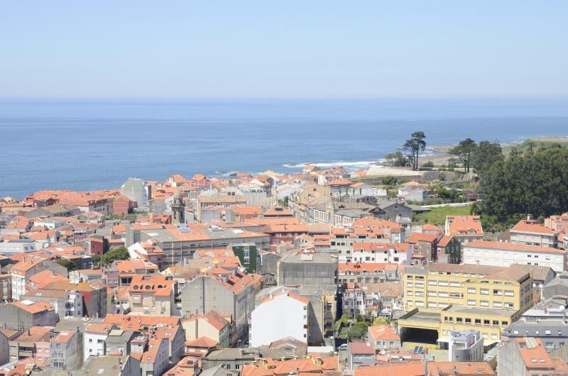 Download Le Village Galicien De Guarda Photo stock - Image du atlantique, océan: 77155264