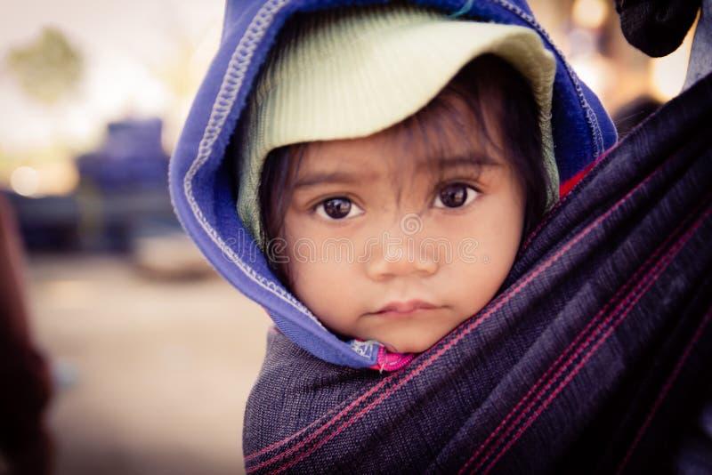 Le visage de children's image libre de droits