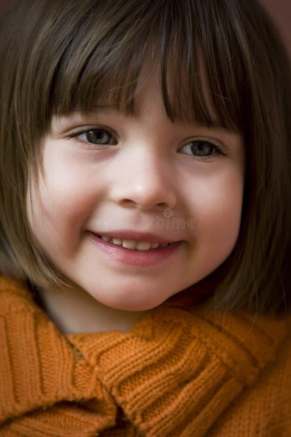 Le visage de l'enfant photo libre de droits