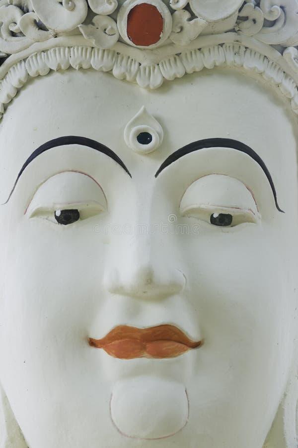 Le visage de stuc image stock