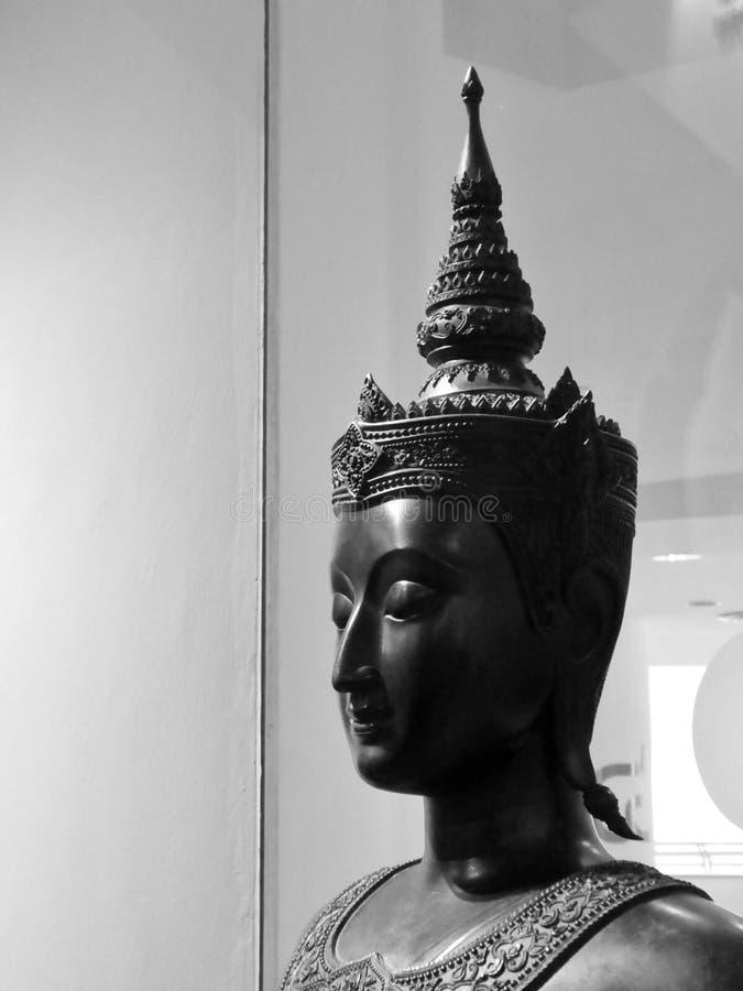 Le visage du Bouddha image libre de droits