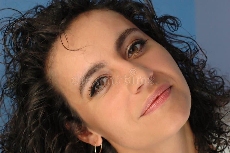 Le visage du femme. photos libres de droits