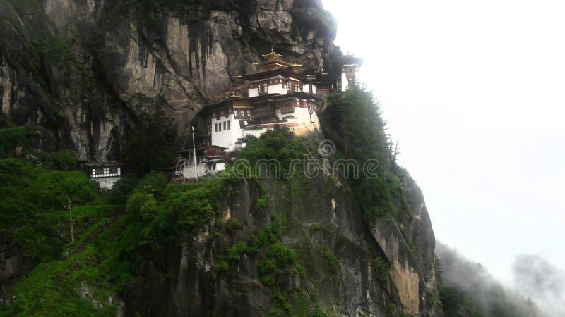 Le viste del Bhutan fotografia stock libera da diritti