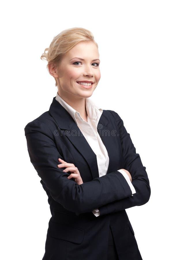 le vit kvinna för bakgrundsaffär arkivfoton