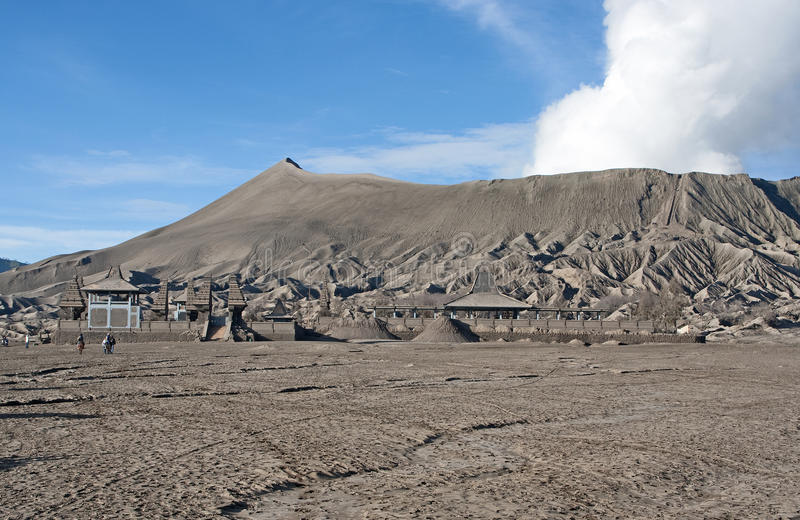 Le volcan de Bromo photos libres de droits