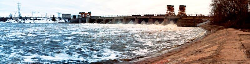 Le Volga image libre de droits