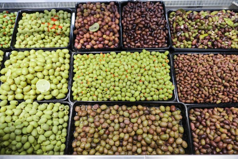le volume d'olives photos libres de droits