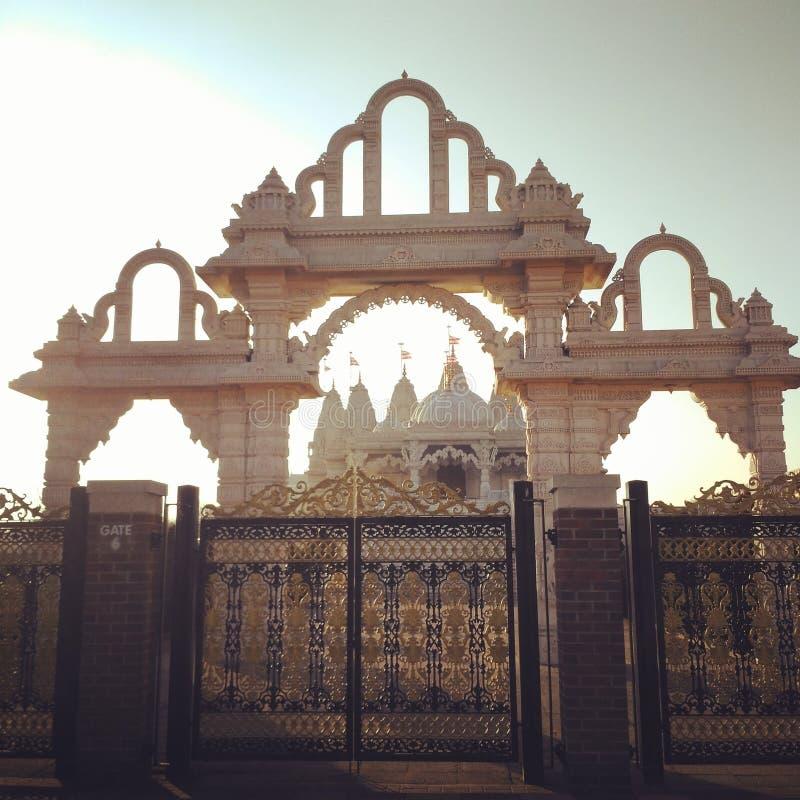 Le voyage de Londres Paris l'Europe de temple d'Inde découvrent image stock