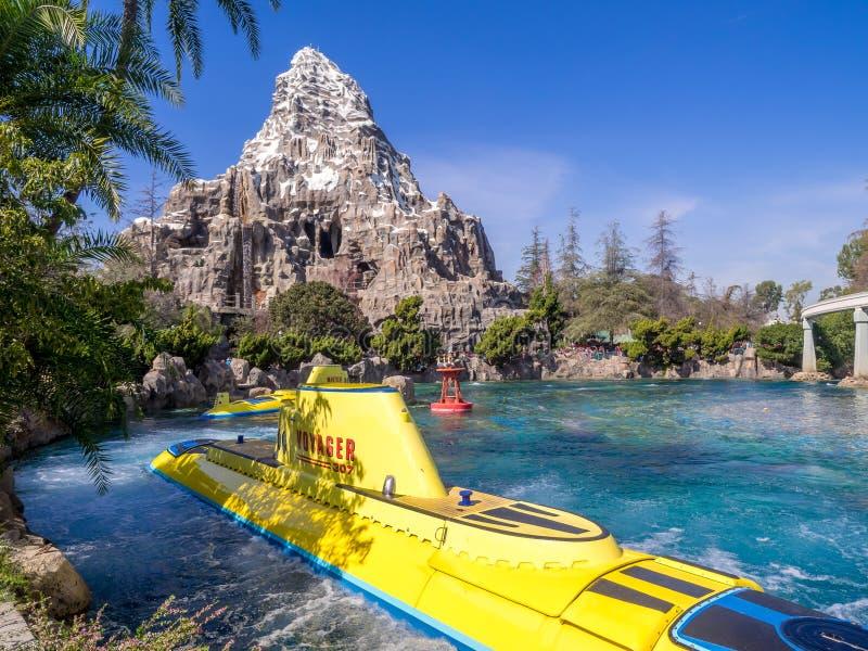 Le voyage submersible de Nemo, Tomorrowland photos stock