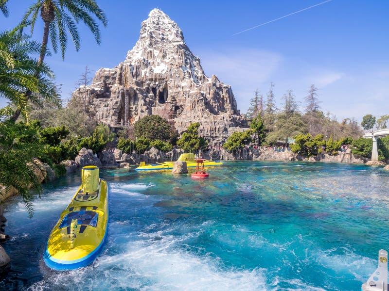 Le voyage submersible de Nemo, Tomorrowland photographie stock libre de droits