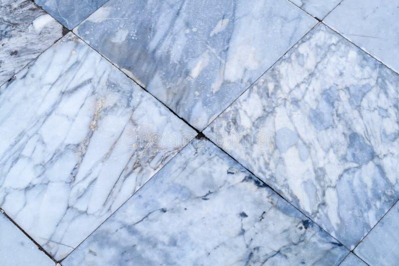 Le vrai marbre couvre de tuiles la texture sans couture de plancher, patte en pierre blanc de tuile photographie stock libre de droits