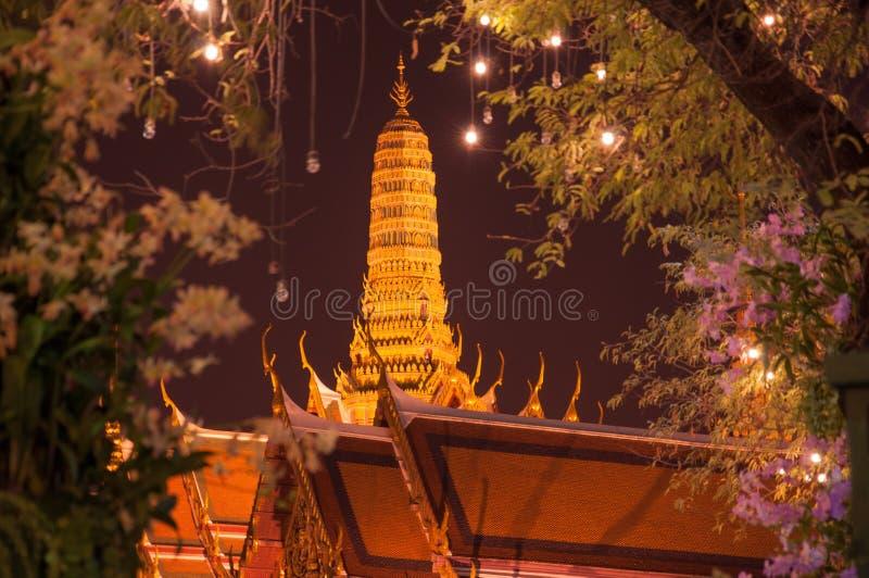 Le Watprakeaw à Bangkok. photo stock