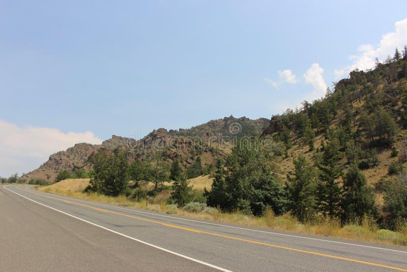 Le Wyoming - montagnes image libre de droits