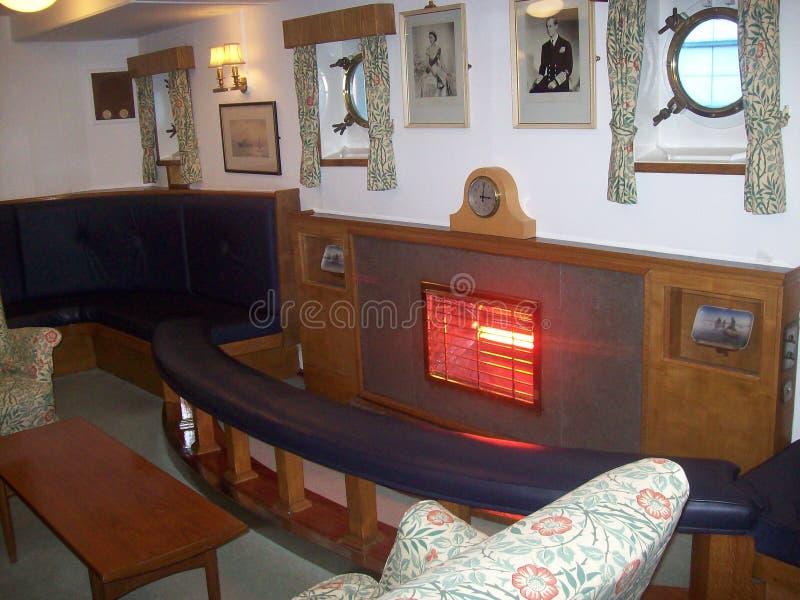 Le yacht royal Britannia, a doit voir l'attraction touristique en visitant Edimbourg, Ecosse photographie stock