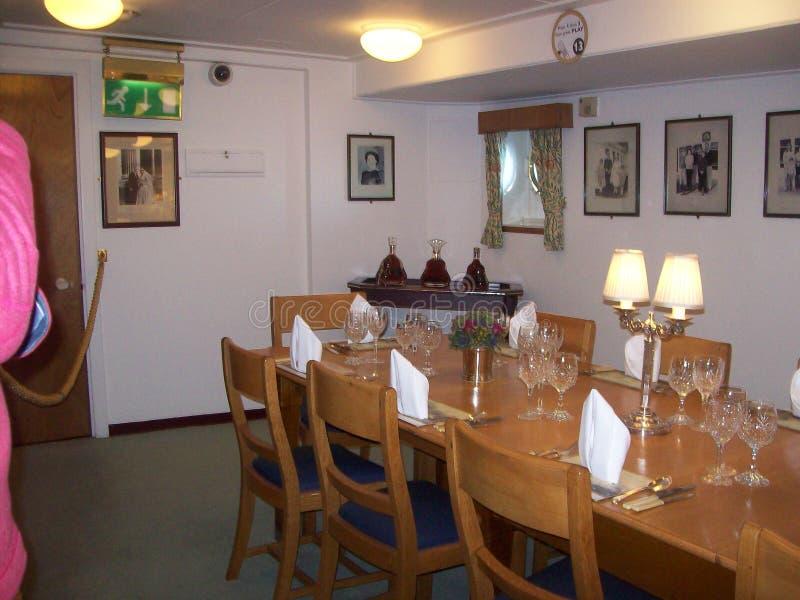 Le yacht royal Britannia, a doit voir l'attraction touristique en visitant Edimbourg, Ecosse photo stock