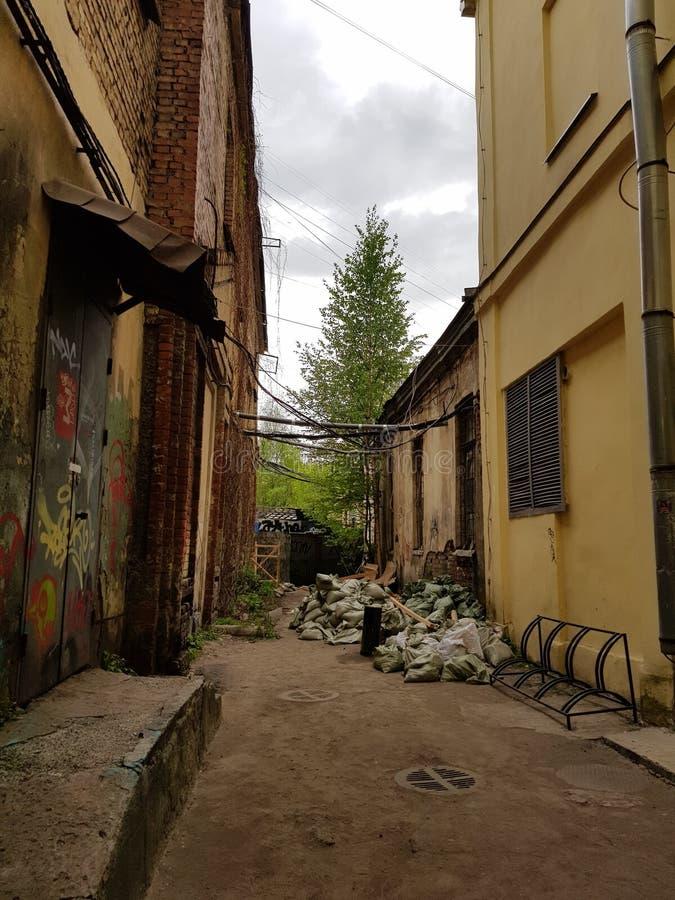 Le yard de St Petersburg photos stock