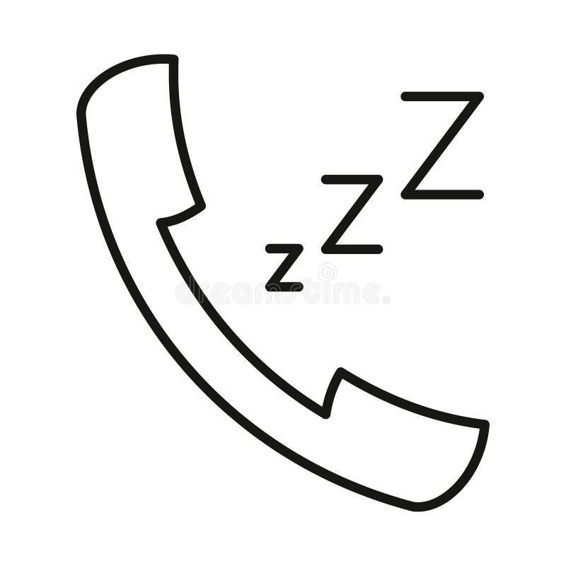 Download Le Z-z-z De Sonnerie D'icône A Fixé La Découpe à La Main Noire Sur Le Fond Blanc De L'illustration Illustration Stock - Illustration du réponse, société: 87708970