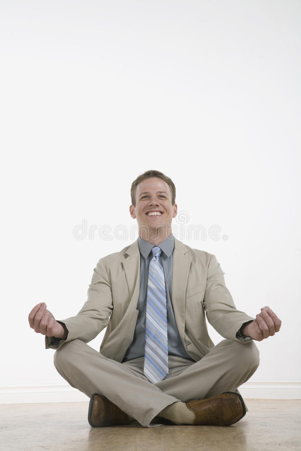 Le zen aiment des affaires image libre de droits