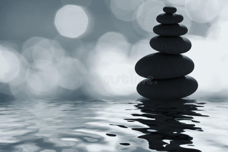 Le zen du clair de lune photographie stock libre de droits
