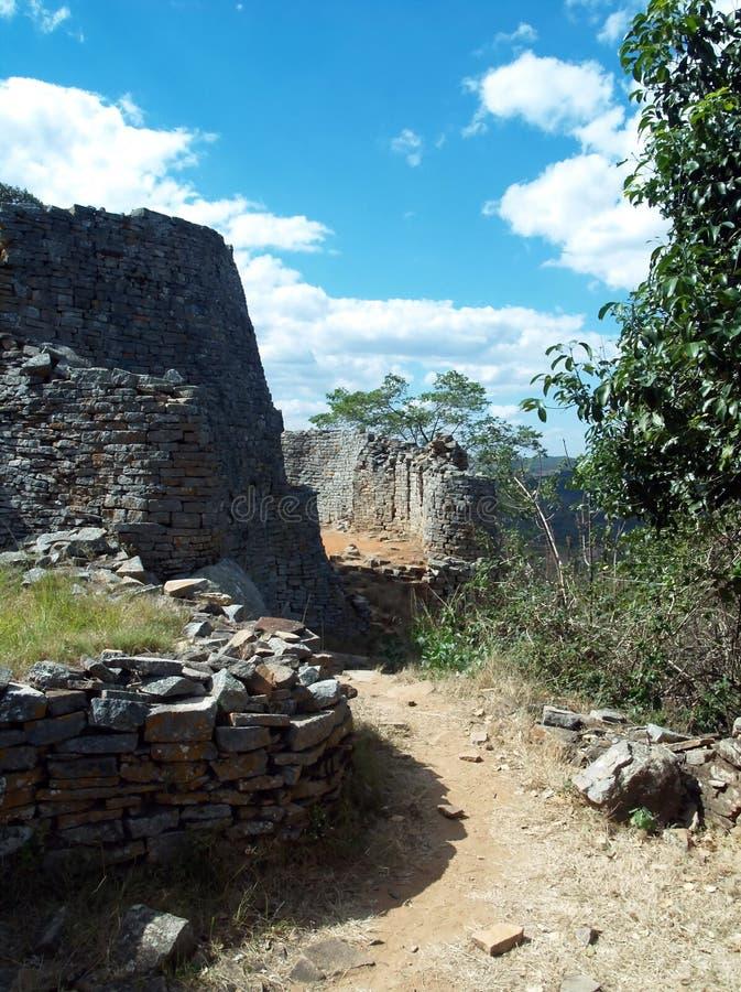 Le Zimbabwe grand photographie stock libre de droits