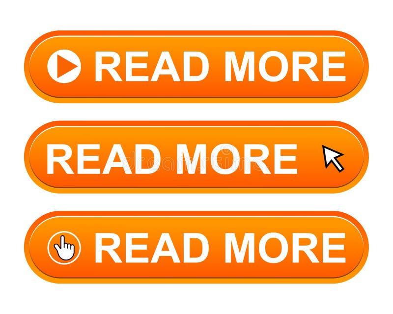 Lea más botón libre illustration