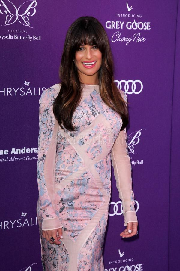 Download Lea Michele At The 2012 Chrysalis Butterfly Ball, Private Location, Los Angeles, CA 06-09-12 Editorial Image - Image: 25585545